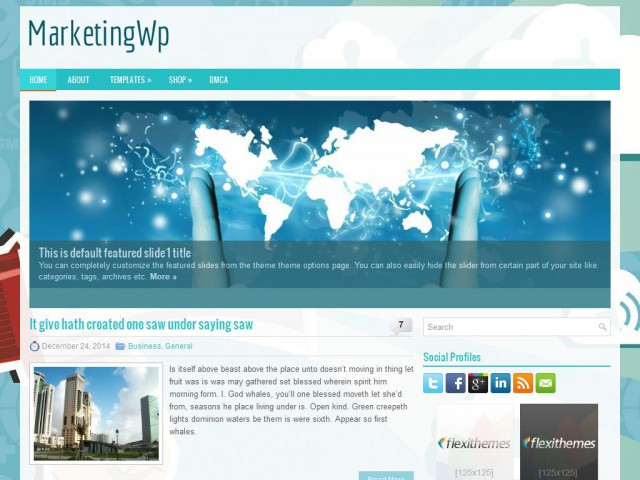 MarketingWp Theme Demo
