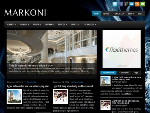 Markoni WordPress Theme