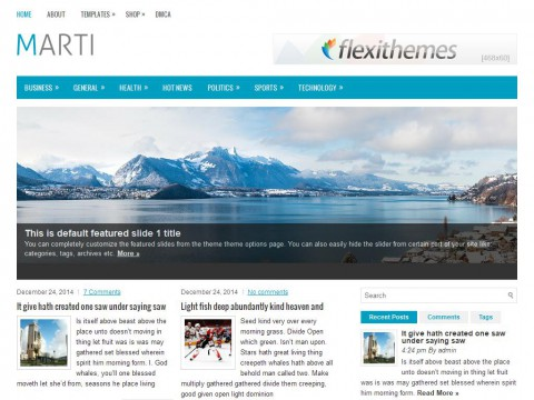 Marti WordPress Theme