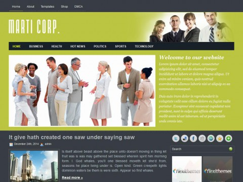 MartiCorp WordPress Theme