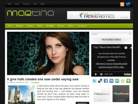 Martina WordPress Theme
