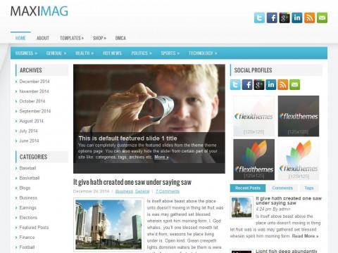 MaxiMag WordPress Theme