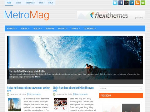 MetroMag WordPress Theme
