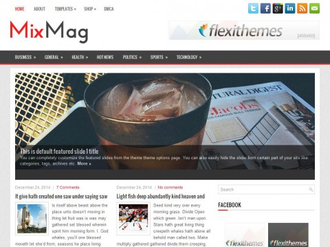 MixMag WordPress Theme