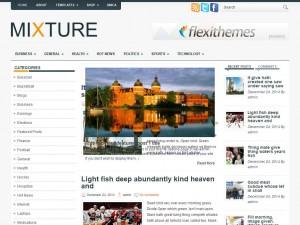 Mixture WordPress Theme