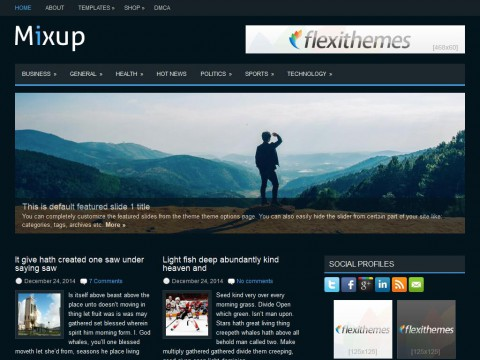 Mixup WordPress Theme