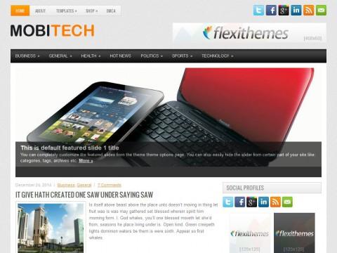 MobiTech WordPress Theme