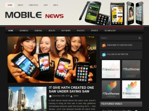 MobileNews WordPress Theme
