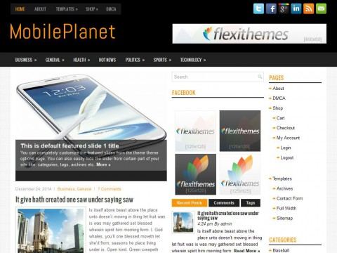 MobilePlanet WordPress Theme