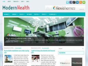 ModernHealth WordPress Theme
