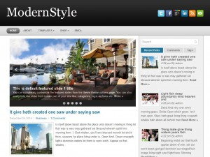 ModernStyle WordPress Theme