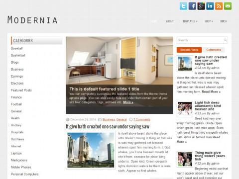 Modernia WordPress Theme