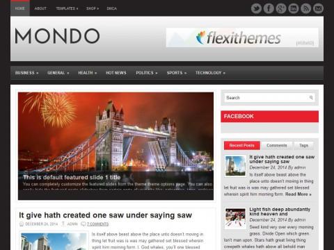 Mondo WordPress Theme