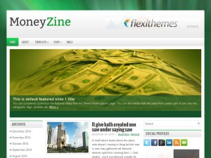 MoneyZine WordPress Theme