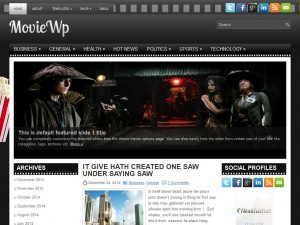 MovieWp WordPress Theme