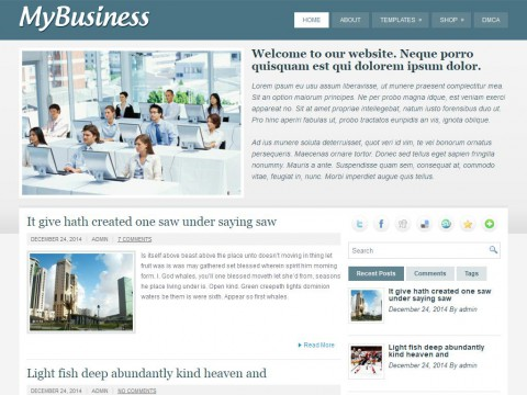 MyBusiness WordPress Theme