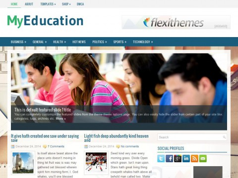 Permanent Link to MyEducation