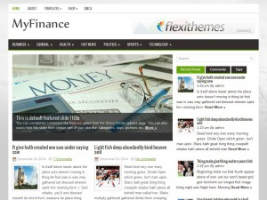 MyFinance WordPress Theme