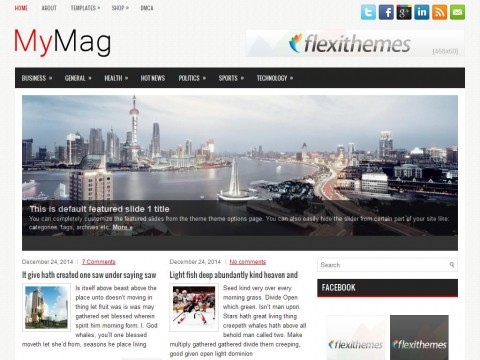 MyMag WordPress Theme