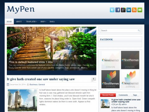 MyPen WordPress Theme