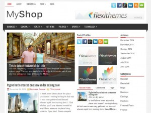 MyShop WordPress Theme