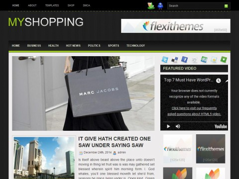 MyShopping WordPress Theme