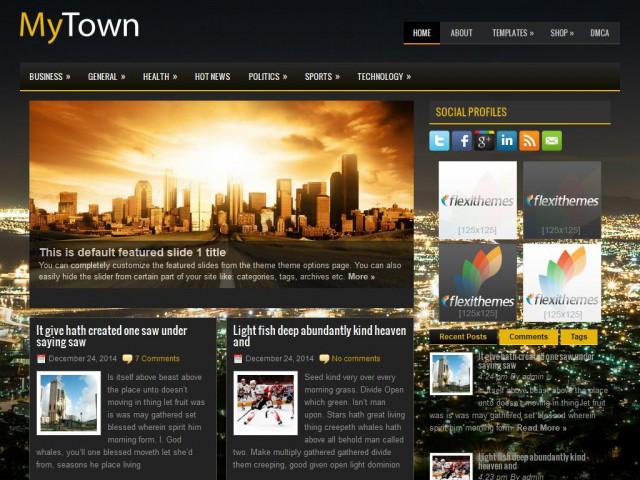 MyTown Theme Demo