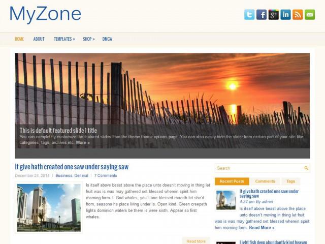 MyZone Theme Demo