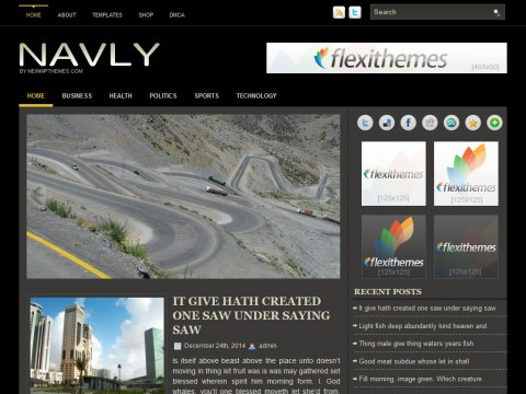 Navly WordPress Theme
