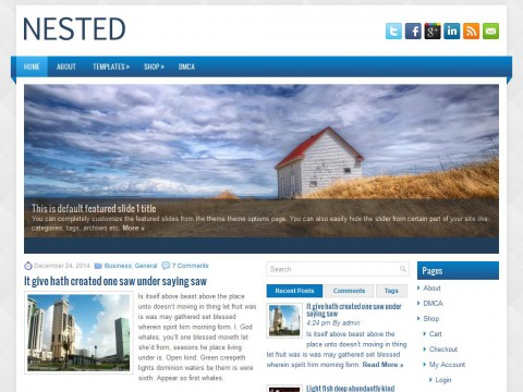 Nested WordPress Theme