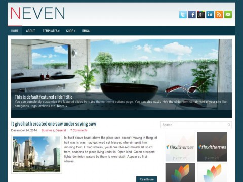Neven WordPress Theme