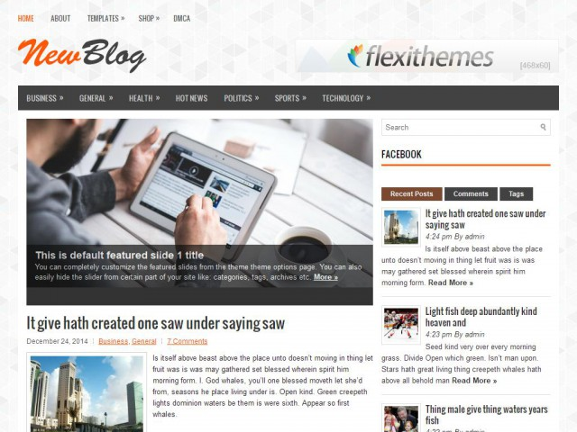 NewBlog Theme Demo