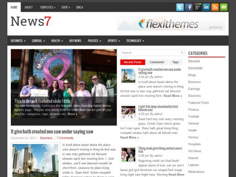 News7 WordPress Theme