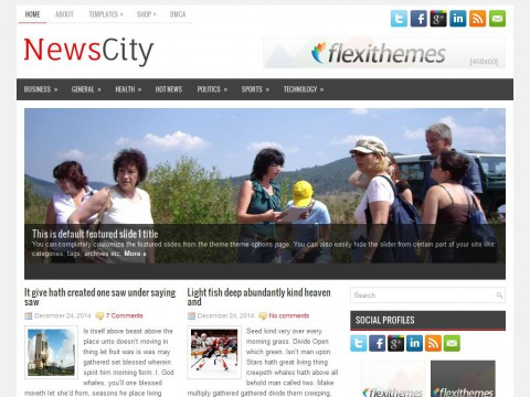 NewsCity WordPress Theme