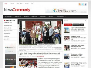 NewsCommunity WordPress Theme