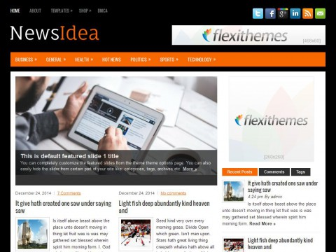 NewsIdea WordPress Theme