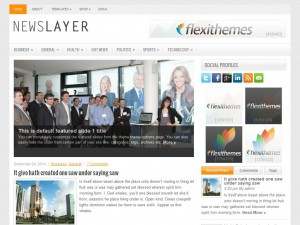 NewsLayer WordPress Theme