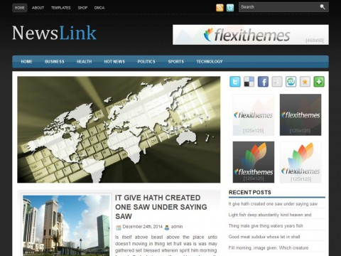 NewsLink WordPress Theme