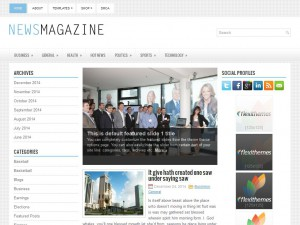 NewsMagazine WordPress Theme