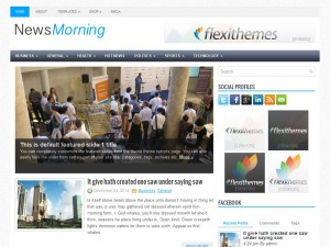 NewsMorning WordPress Theme