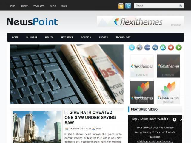 NewsPoint Theme Demo