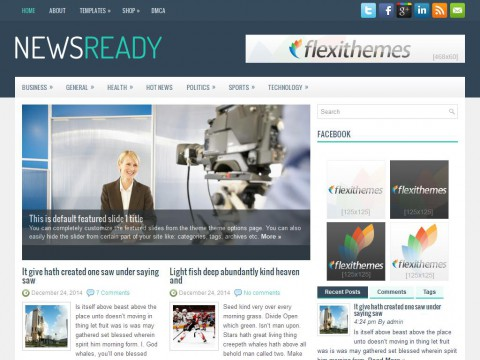 NewsReady WordPress Theme