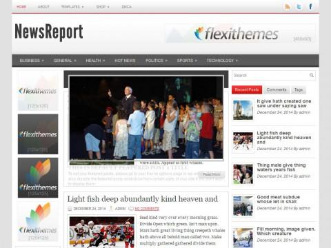 NewsReport WordPress Theme