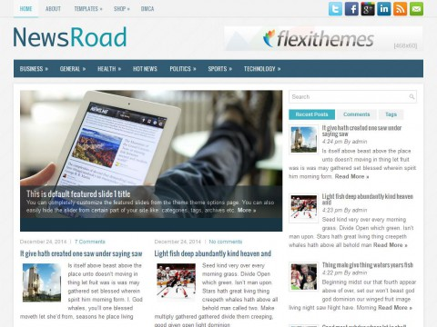 NewsRoad WordPress Theme