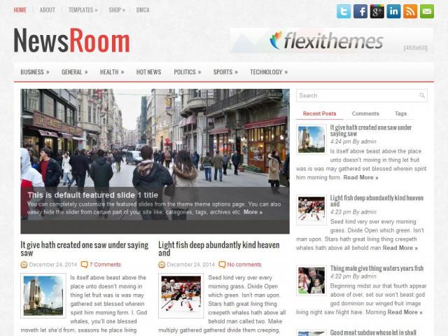 NewsRoom Theme Demo