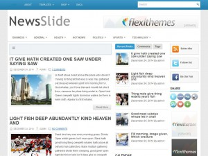 NewsSlide WordPress Theme