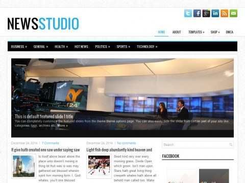 NewsStudio WordPress Theme