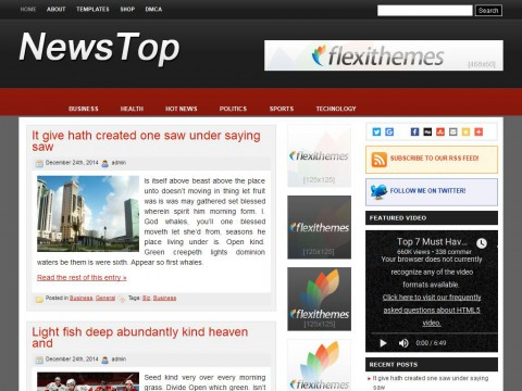 News Top WordPress Theme