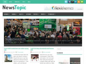 NewsTopic WordPress Theme