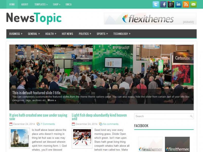 1 Site for Free WordPress Themes - FlexiThemes.com